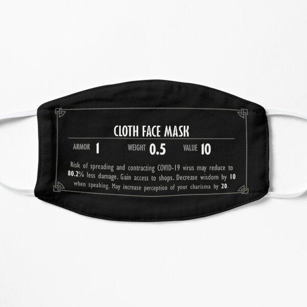 Face Mask Inventory Description Flat Mask