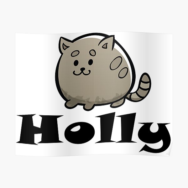 Holly Cat Poster