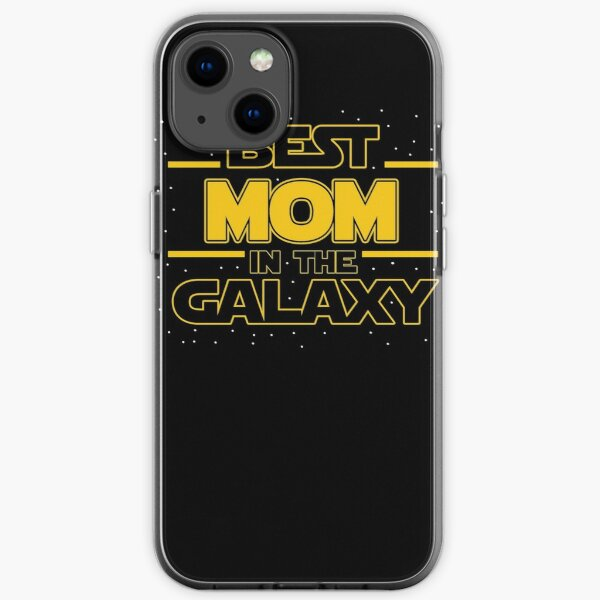 Best Mom In The Galaxy  iPhone Soft Case