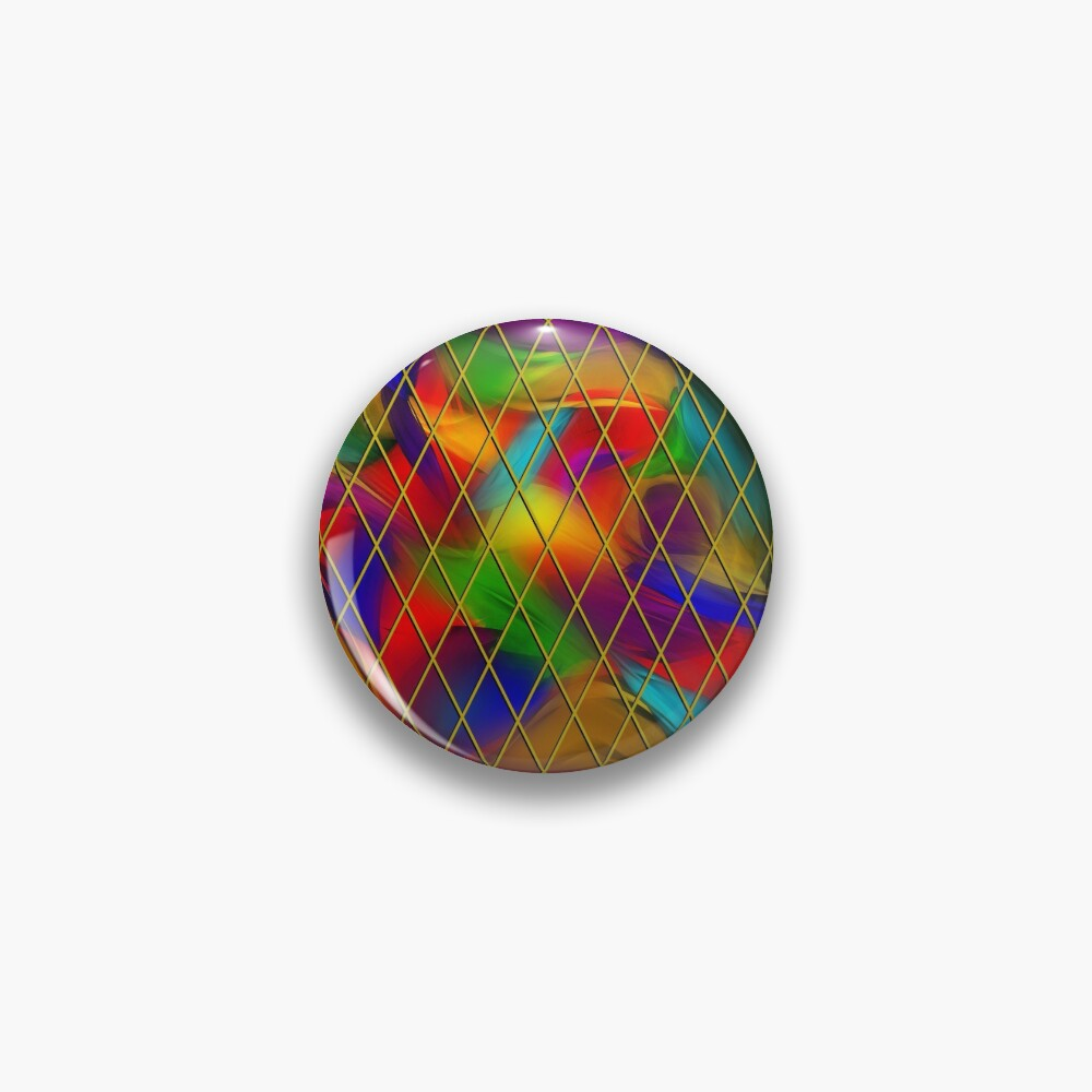 Golden Diamonds, Rainbow Void Pin