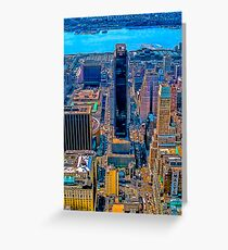NY City Empire State Building 1 Greeting Card