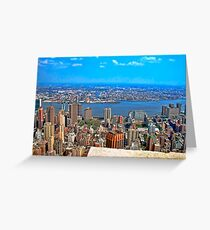 NY City Empire State Building 2 Greeting Card