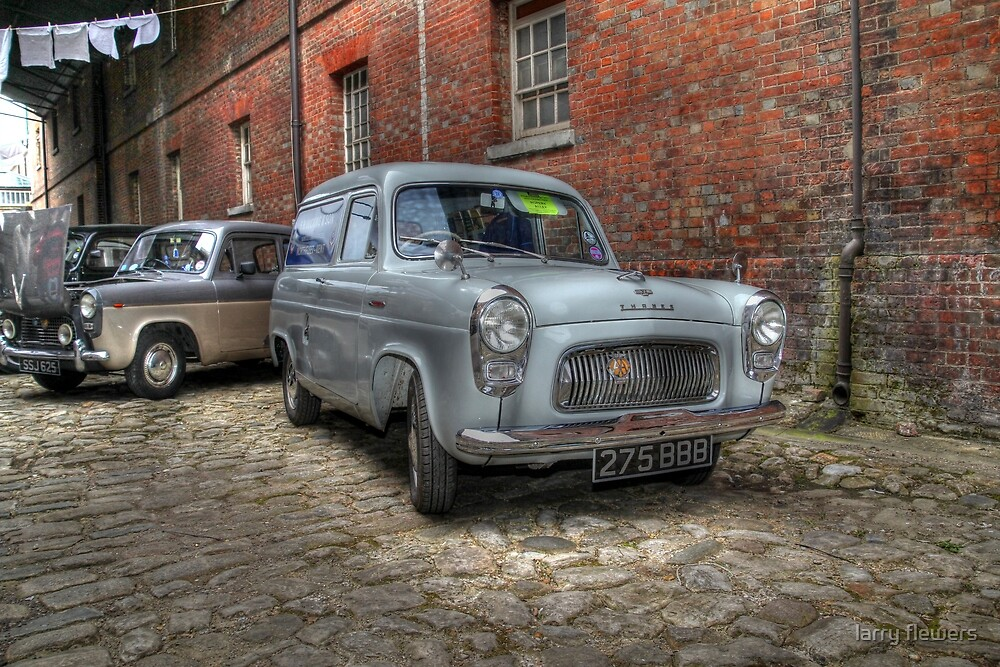 Ford Thames 100E 7CWT Van  by larry flewers