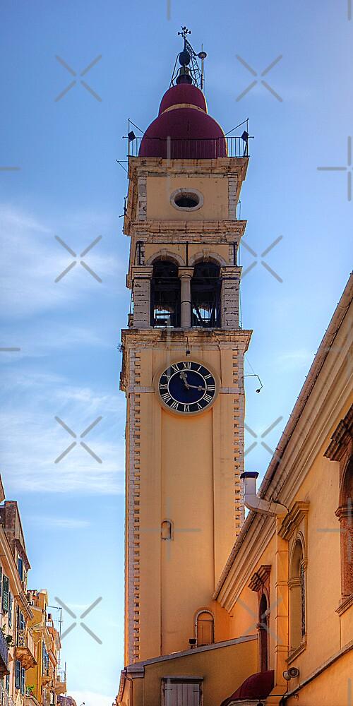 Bell Tower of Agios Spyridon by Tom Gomez