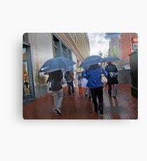San Francisco in the Rain Canvas Print