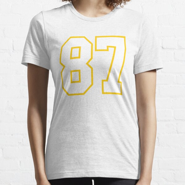 Eighty-seven White Jersey Number 87 Essential T-Shirt