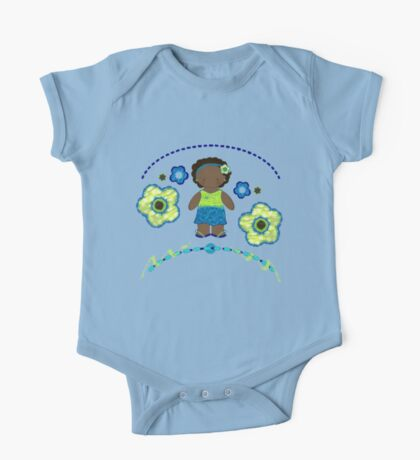 Jasmine & Her Flowers Kids Clothes