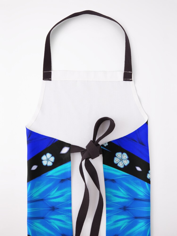 Alternate view of Onyx Beams of Flowers and Gems Apron