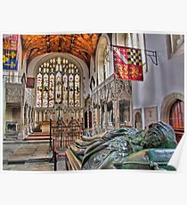 The Fitzalan Chapel - Arundel Castle 2 - HDR Poster