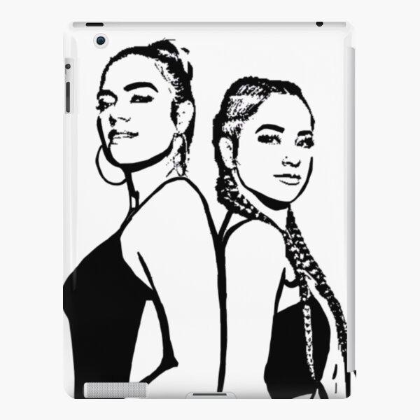 Becky G et Karol G Coque rigide iPad