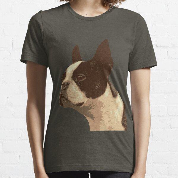 Retro Boston Terrior ver2 Essential T-Shirt
