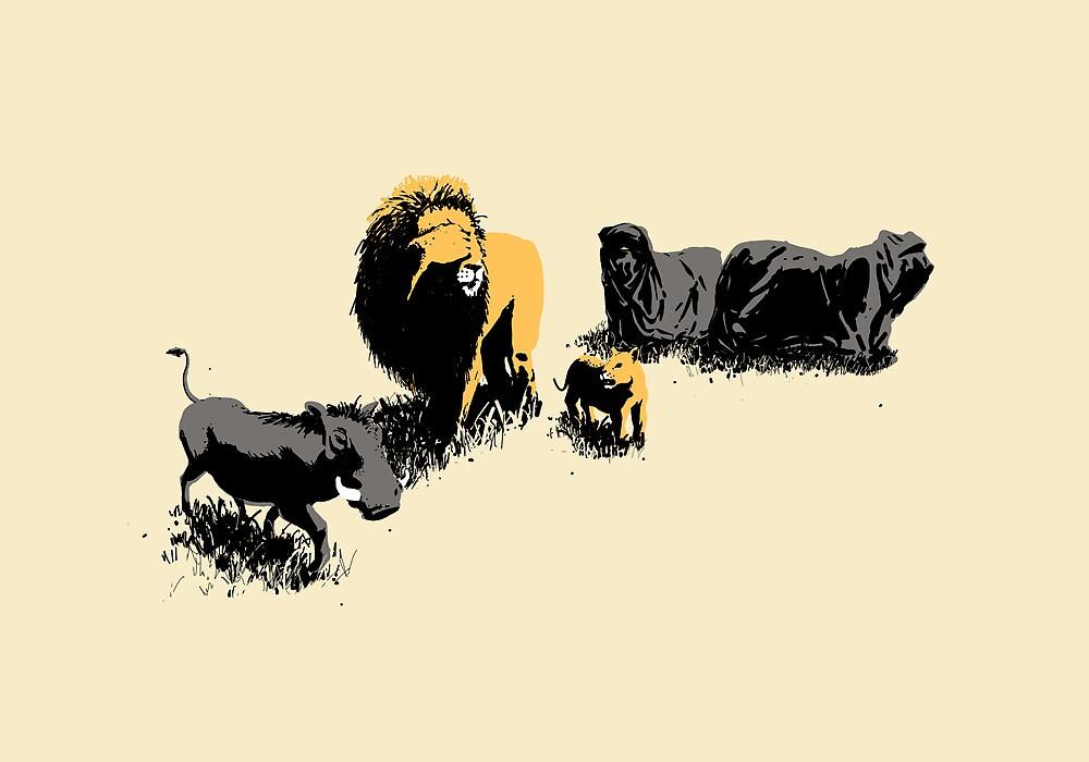 Muslim Lions by maentis