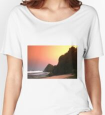 Colorful sunset  Women's Relaxed Fit T-Shirt
