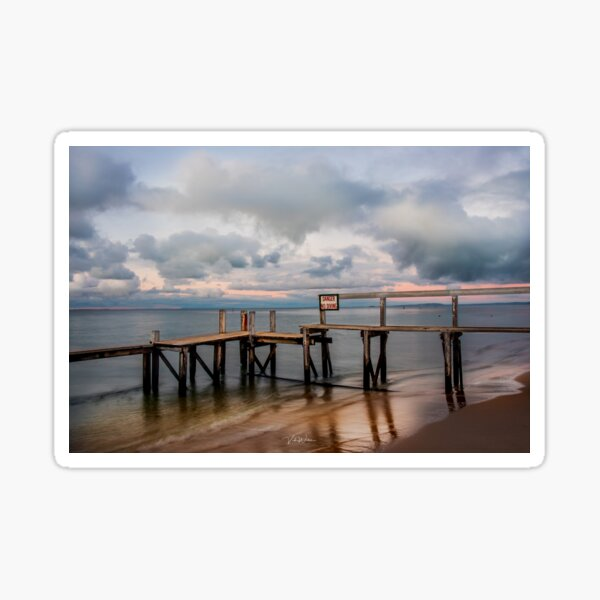 Shelley Beach, Portsea, Mornington Peninsula, Victoria, Australia Sticker