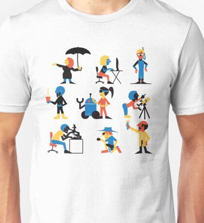 9 Scientists Unisex T-Shirt