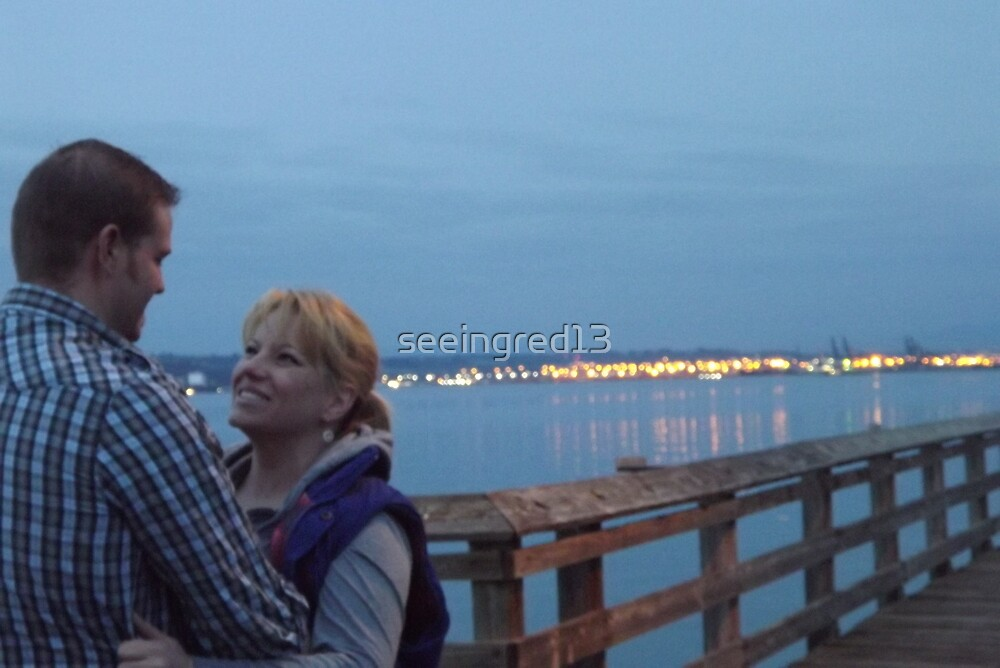 Twilight Conversations on Ruston Way & Commencement Bay by seeingred13