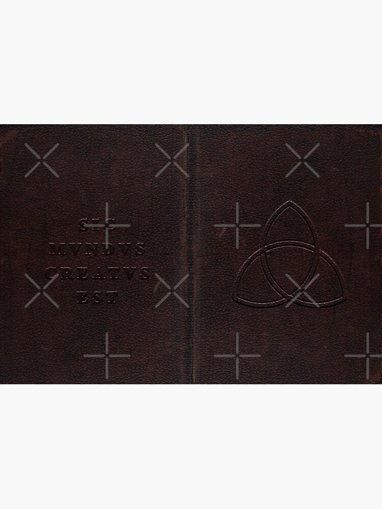 Noah Claudia Unknown Leather Notebook DARK by MarcoPolok