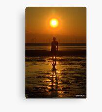 Iron Man at Sunset Canvas Print