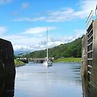 Entering Gairlochy Lock...............Scotland ! by Roy  Massicks