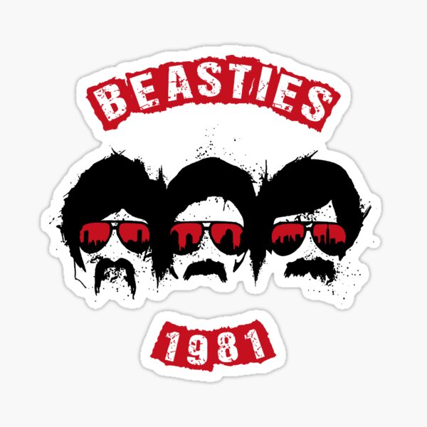 Beasties 1981 Sticker