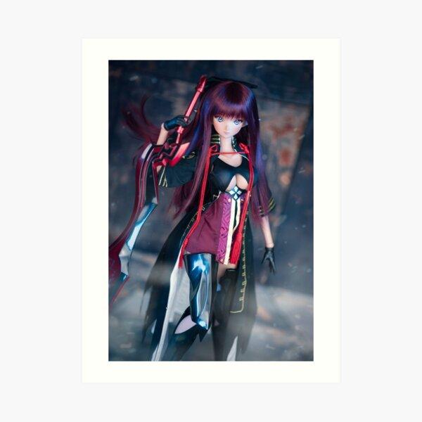Smart Doll Athena – Kronos  Art Print