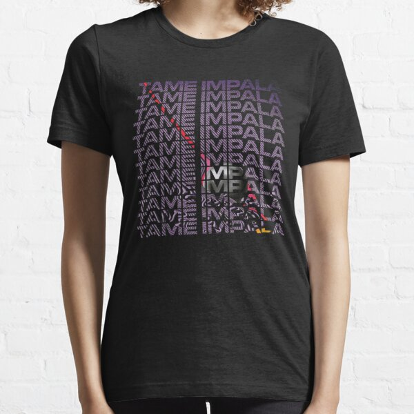Tame Psychedelic Text Essential T-Shirt