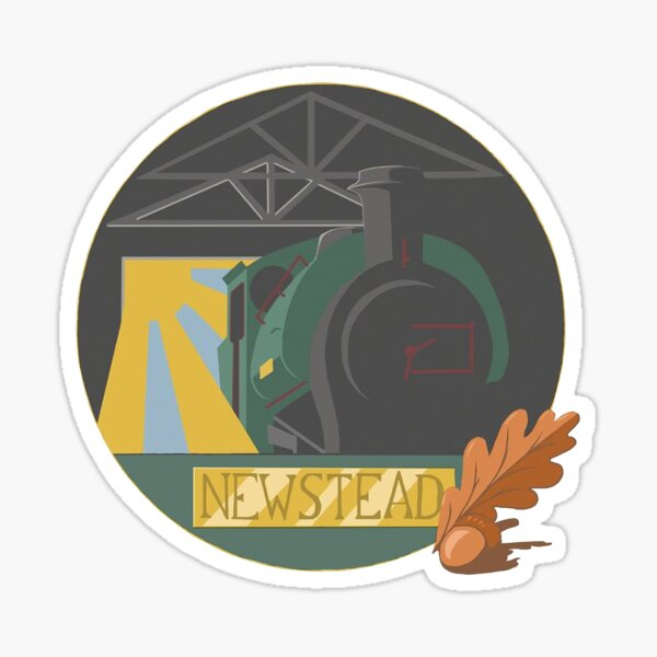 Newstead's New Dawn Logo Sticker