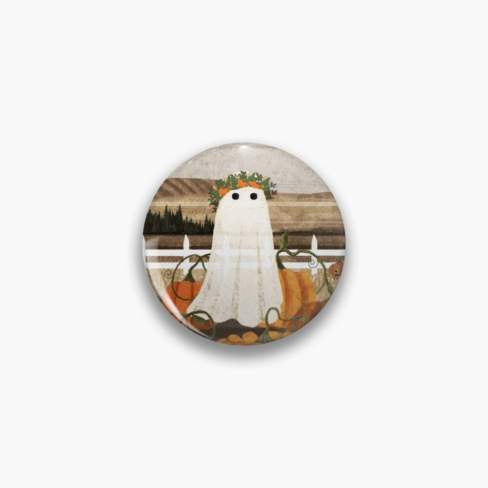 There's a Ghost in the Pumpkins Patch Again... Pin