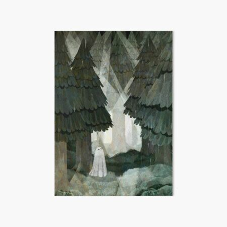 Pine Forest Clearing Art Board Print