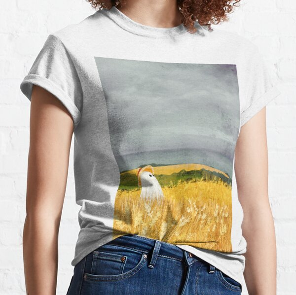 There's A Ghost in the Wheat field again... Classic T-Shirt