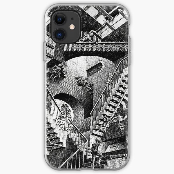 M.C. Escher - Relativity  iPhone Soft Case