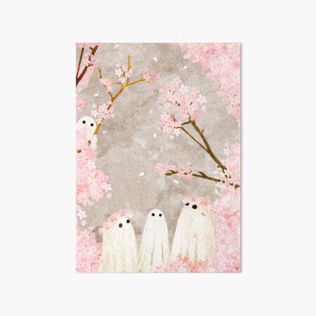 Cherry Blossom Party Art Board Print