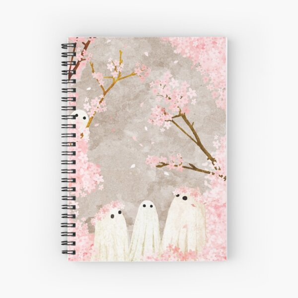 Cherry Blossom Party Spiral Notebook