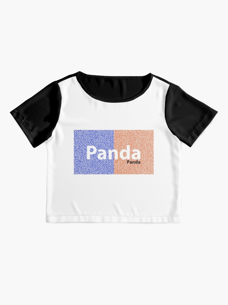 Alternate view of Panda Panda Korea edition Chiffon Top