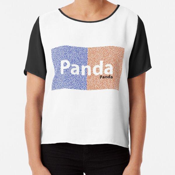 Panda Panda Korea edition Chiffon Top