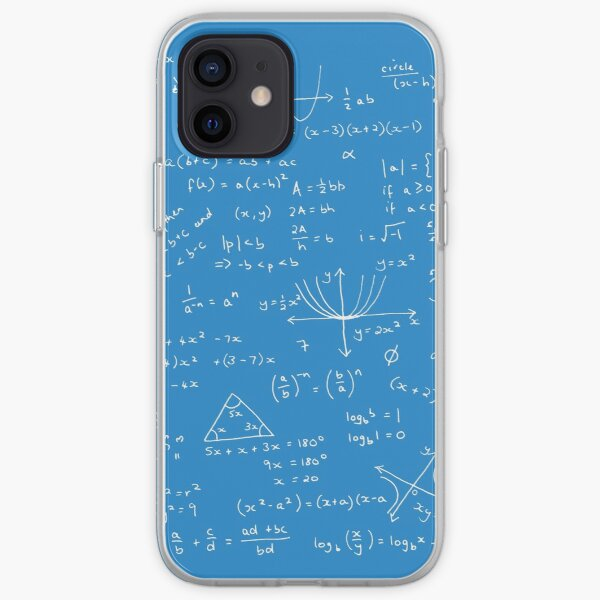 Algebra Math Sheet 2 iPhone Soft Case