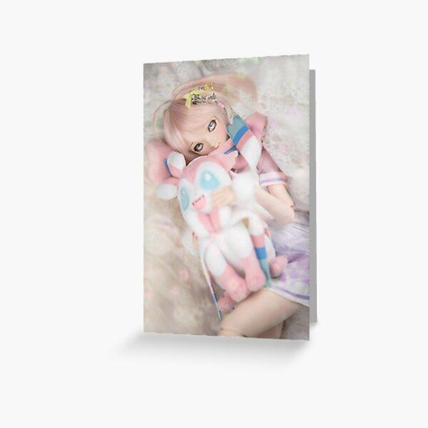 Dollfie Dream Rise Kujikawa - Ophelia Greeting Card