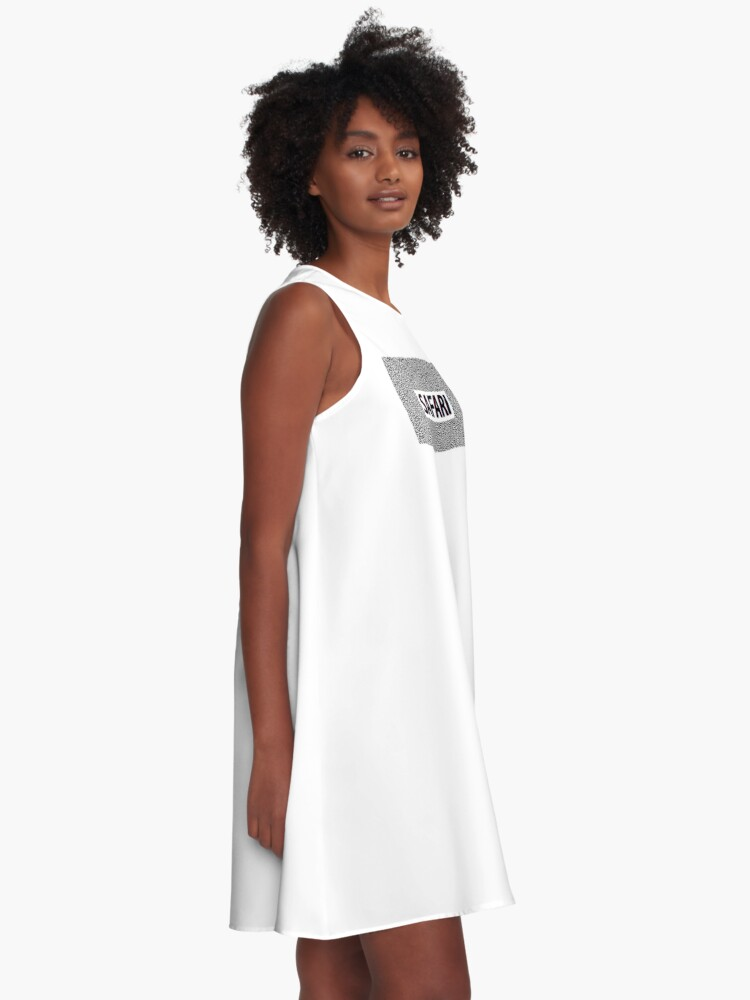 Alternate view of SAFARI 3D Effect A-Line Dress
