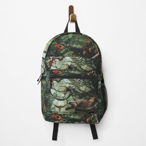 LEOPARD IN THE RAIN FOREST Backpack