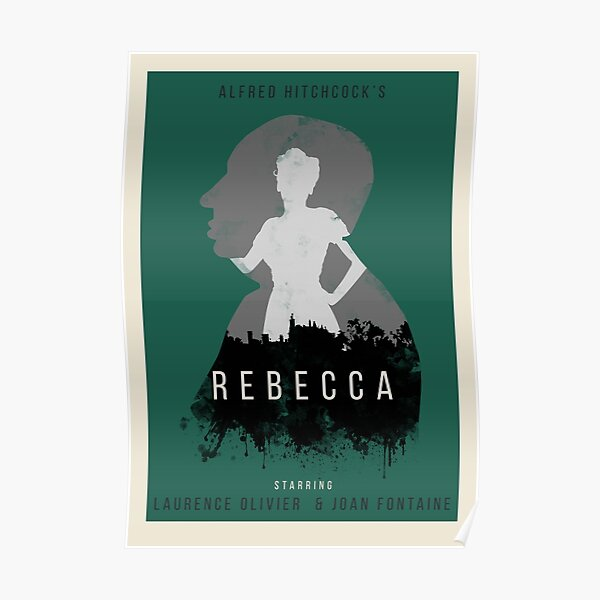 Alfred Hitchcock Rebecca Poster