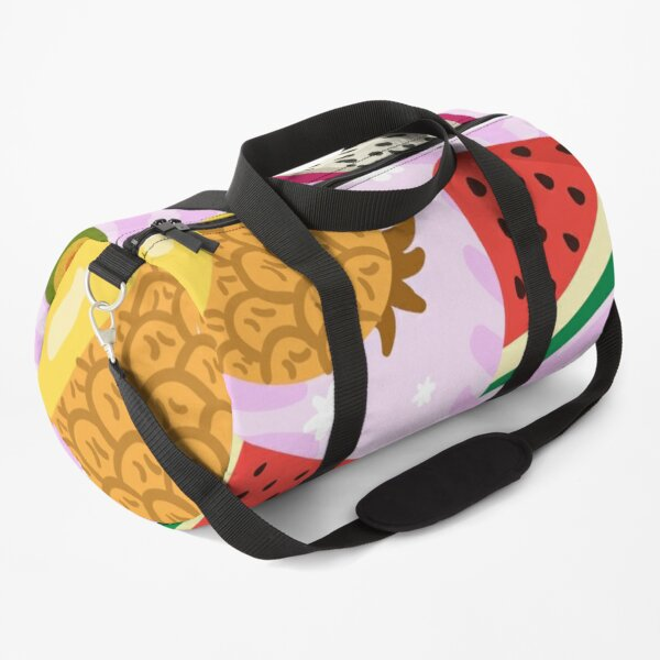 Exotic summer fruit pattern Duffle Bag