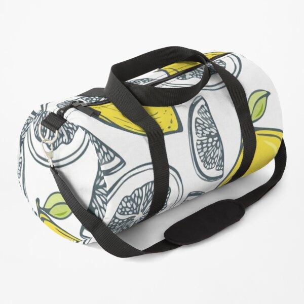 Exotic tropical fruit pattern Duffle Bag