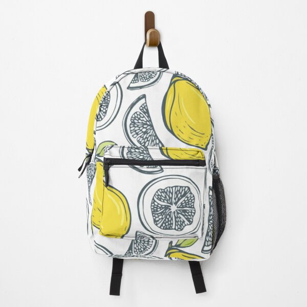 Exotic tropical fruit pattern Backpack