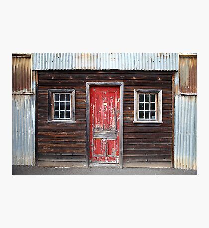 """The Red Door"" Photographic Print"