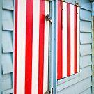 Candy striped - Brighton Beach Boxes - Australia by Norman Repacholi
