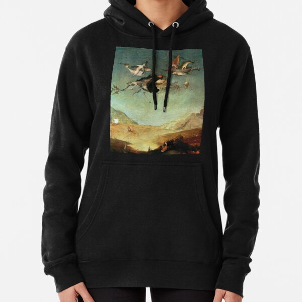 Detail from Triptych of the Temptation of St. Anthony by Hieronymus Bosch  Pullover Hoodie