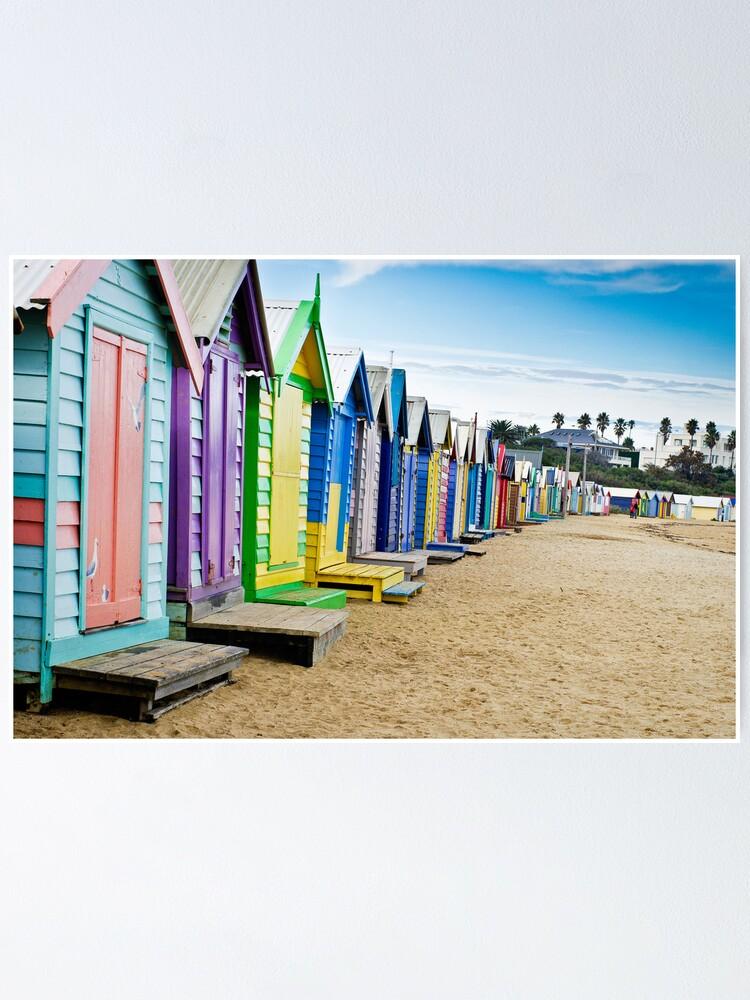 Alternate view of Location, Location, Location - Brighton Beach Boxes - Australia Poster