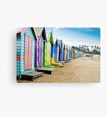 Location, Location, Location - Brighton Beach Boxes - Australia Metal Print
