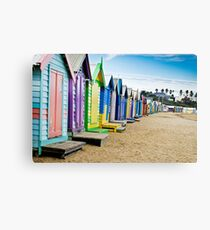Location, Location, Location - Brighton Beach Boxes - Australia Canvas Print