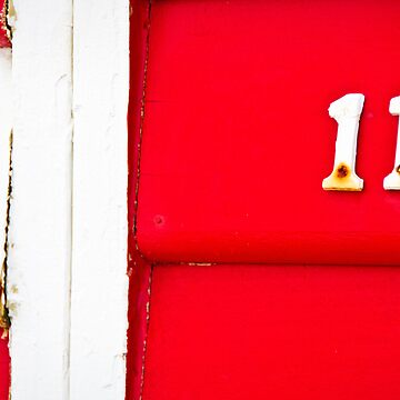 White on Red Eleven- Brighton Beach Boxes - Australia by keystone